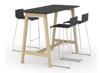 Wooden High Tables